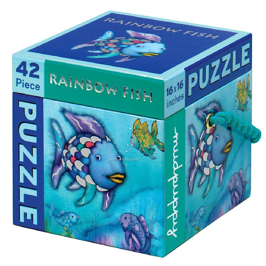Rainbow Fish 42-piece Puzzle