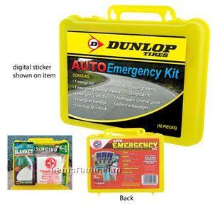 16 Piece Auto Emergency Kit (23 Hour Service)