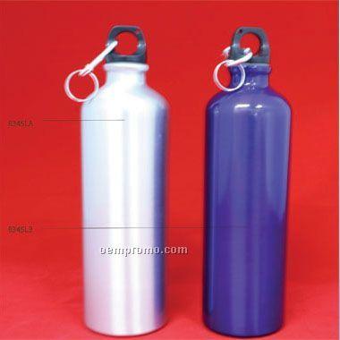 25 Oz Large Aluminum Sports Water Bottle W/Box