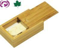 Flash Memory Drive W/ Rectangular Wood Case