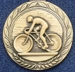 "2.5"" Stock Cast Medallion (Bike)"