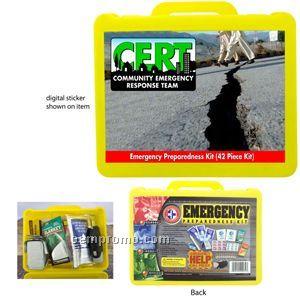 42 Piece Emergency Preparedness Kit (23 Hour Service)