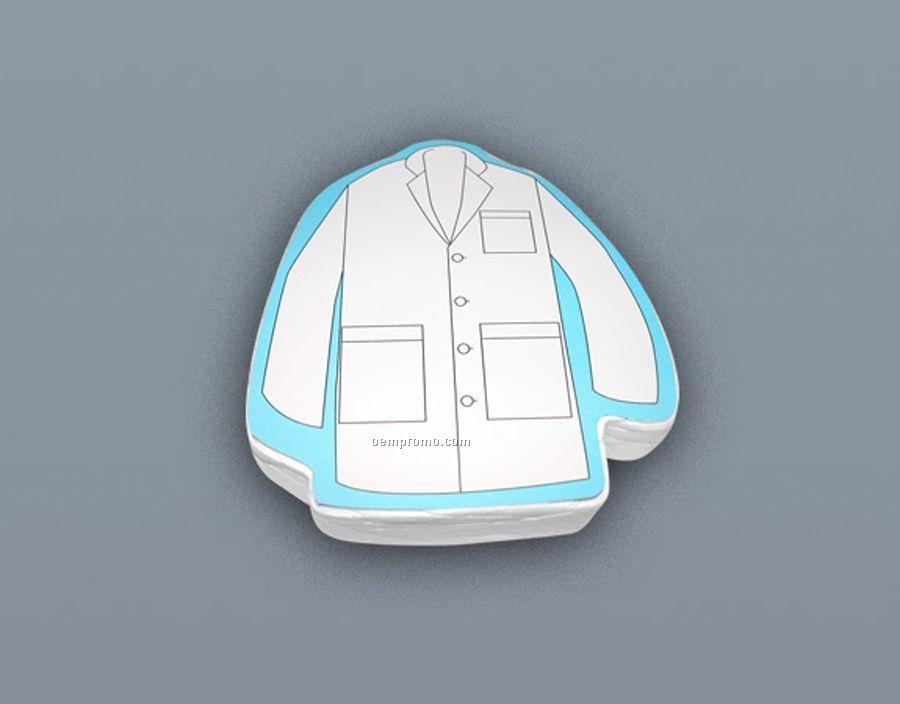 Compressed 100% Cotton T-shirt Lab-coat Stock Shape (S-xl)