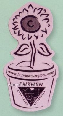 Flower Pot Flexible Magnet