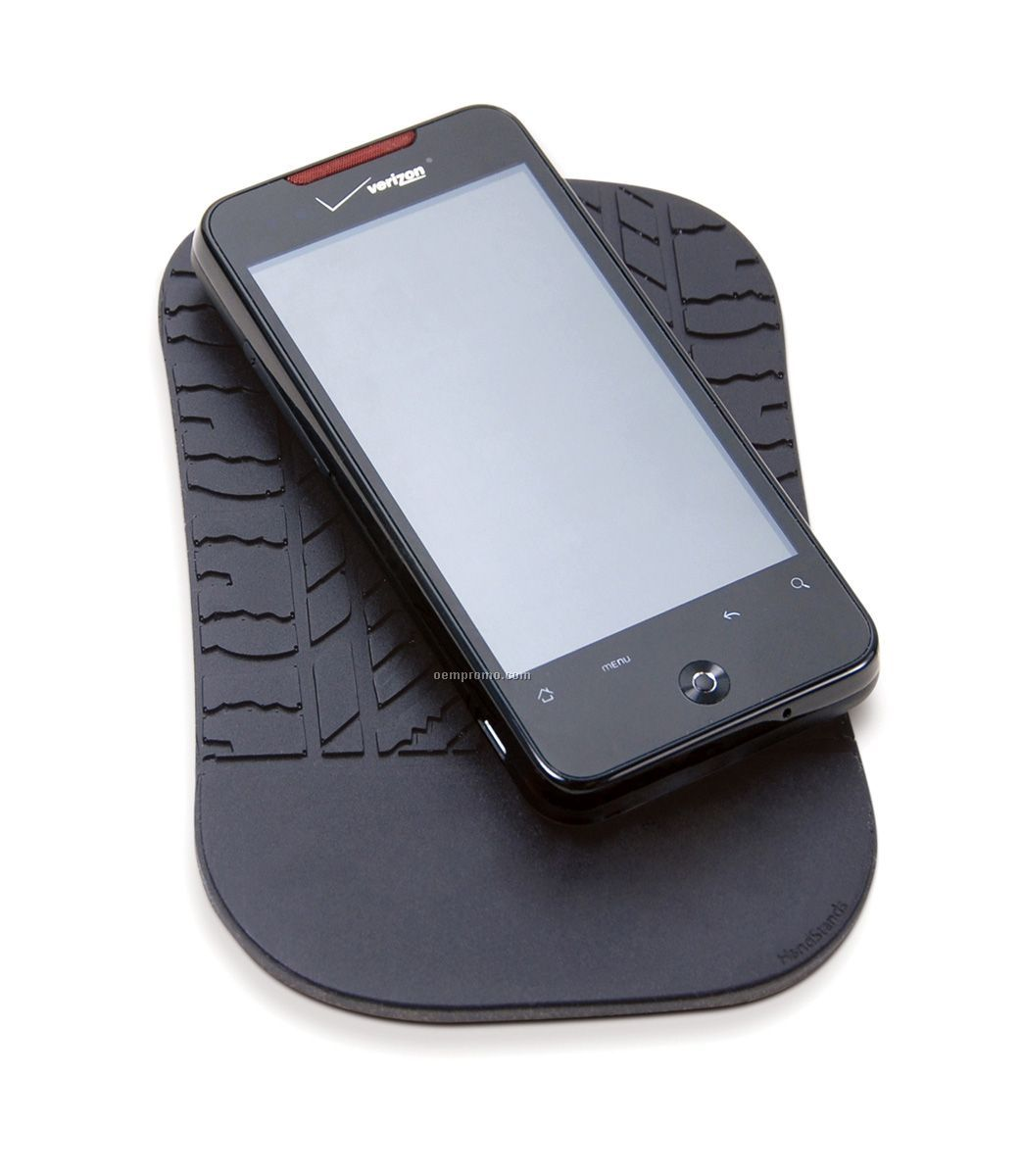 Jelly Sticky Pad (Tire Tread) --magically Holds Phone On Dash!