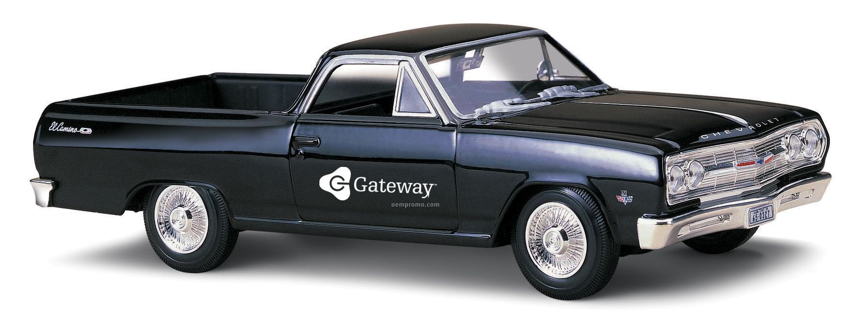"""7""""X2-1/2""""X3"""" 1965 Chevy El Camino Die Cast Replica Car"""
