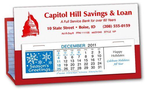 Deskretary Paper Holder & Calendar