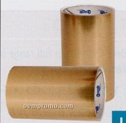 """Laser Foil Self Adhesive - 6""""X25""""X0.003 / Brushed Gold"""
