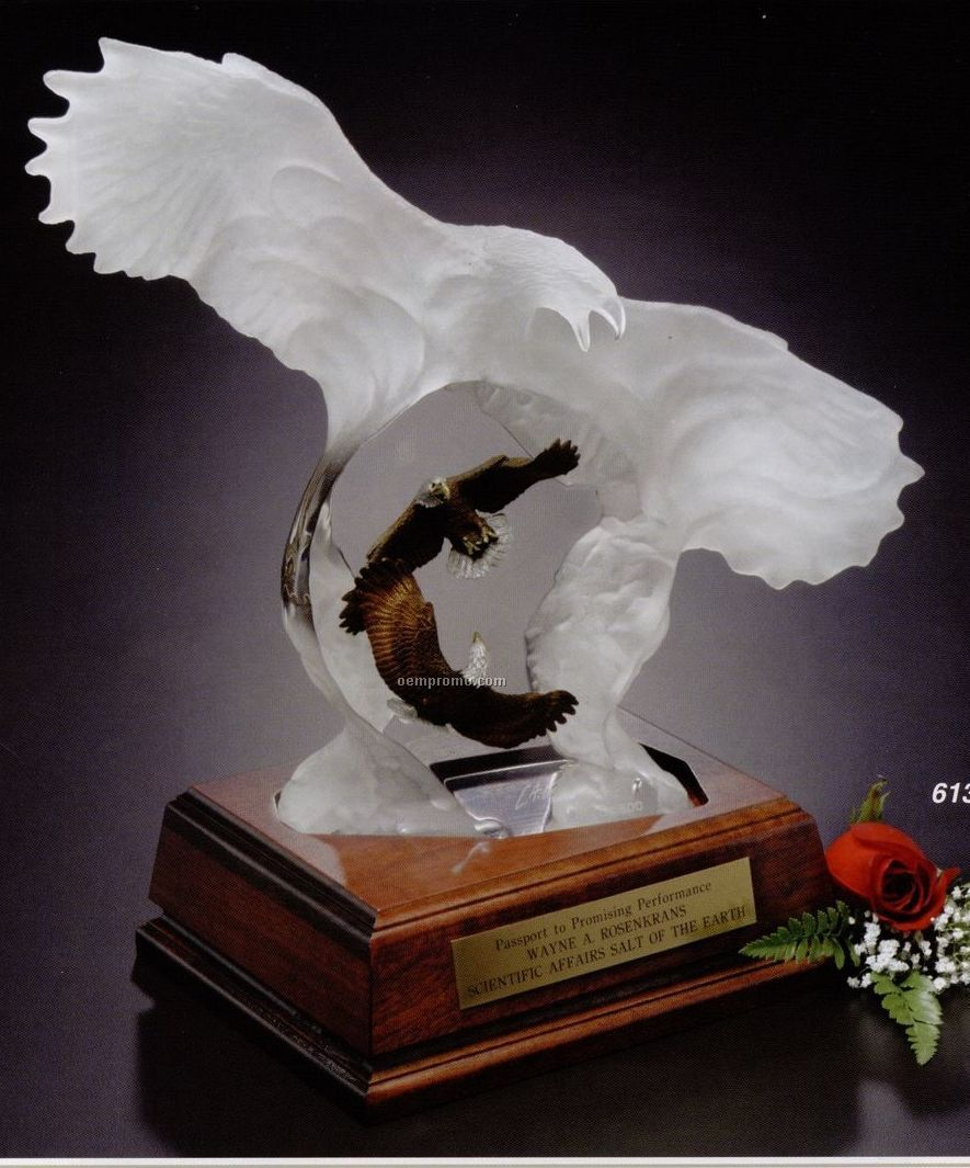 Limited Edition Eagle Spirit Award Sculpture By Christopher Pardell