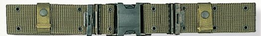 Olive Green Drab X-large Gi Nylon Pistol Belt With Quick Release