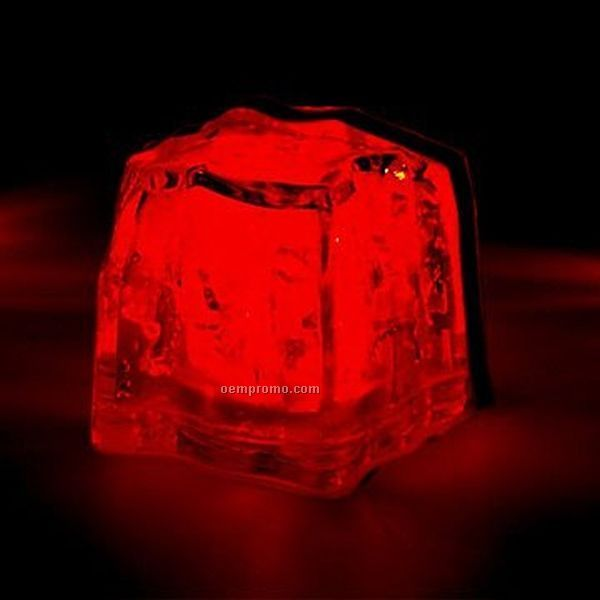 red 3 function light up ice cube china wholesale red 3 function