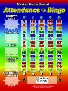 Attendance Bingo Or Custom Games & Boards