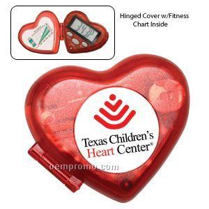 The Heart Pedometer W/ Clock