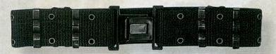 Black Large Gi Nylon Pistol Belt With Quick Release