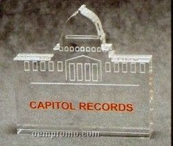 Capitol Building Acrylic Paperweight (Up To 12 Square Inch)