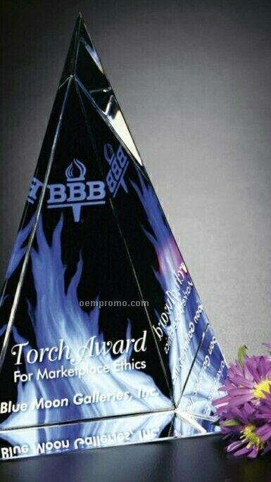 "Crystal Illumachrome Palisade Award (7""X10""X2"")"