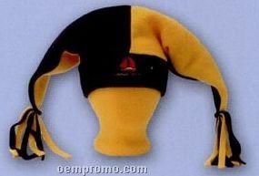 Premium Polar Fleece Two Point Jester Hat