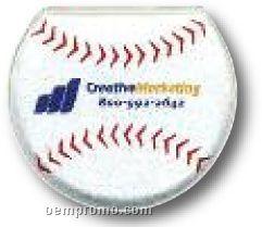 "Baseball Real Feel Adhesive Sportsline Pad Holder / 4 1/4""X4 7/8"""