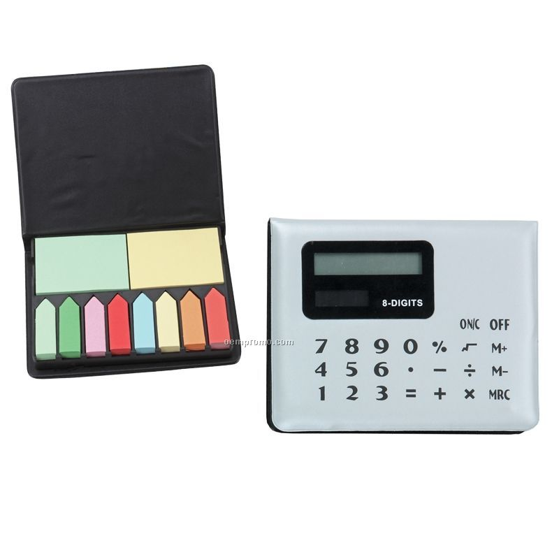 Calculator Sticky Note Memo Case