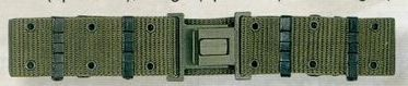Olive Green Drab Large Gi Nylon Pistol Belt With Quick Release