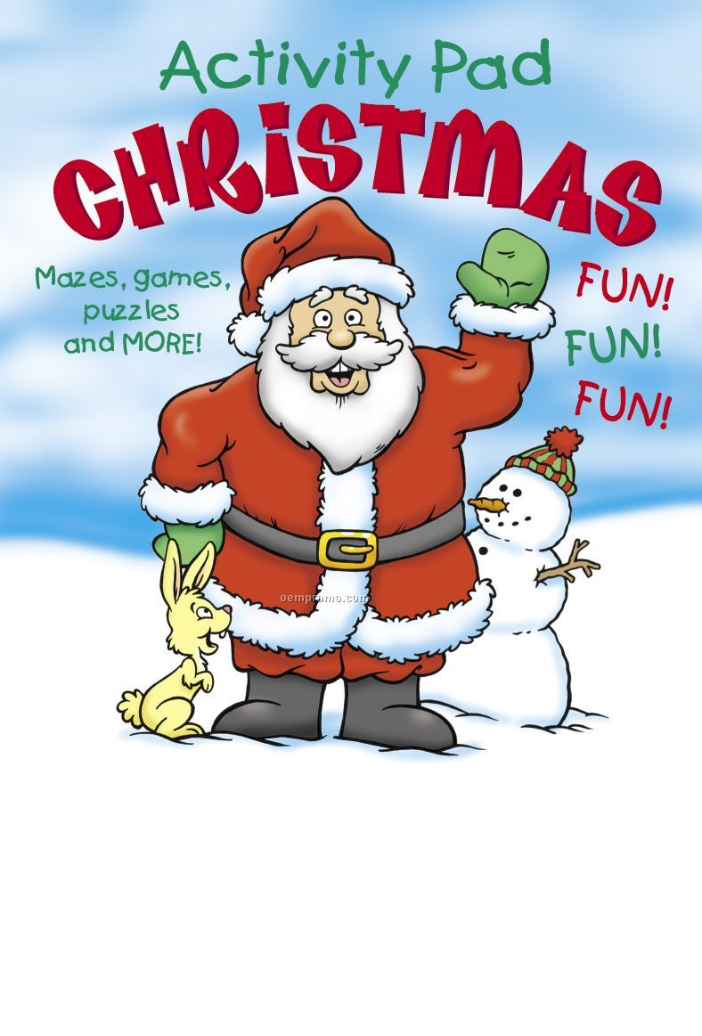Christmas Activity/Coloring Book Fun Pack