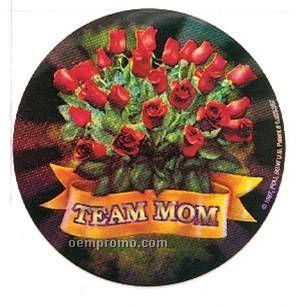 "Holographic Mylar - 2"" Team Mom"
