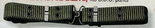Olive Green Drab Mini Military Pistol Belt