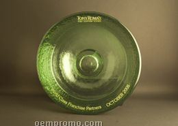 Party Bowl Award. 91% Post-consumer Recycled Glass. Celery.