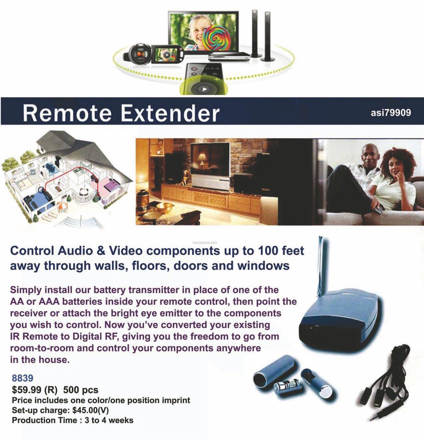 Remote Control Extender