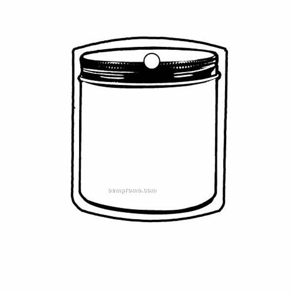 Stock Shape Collection Jar 2 Key Tag