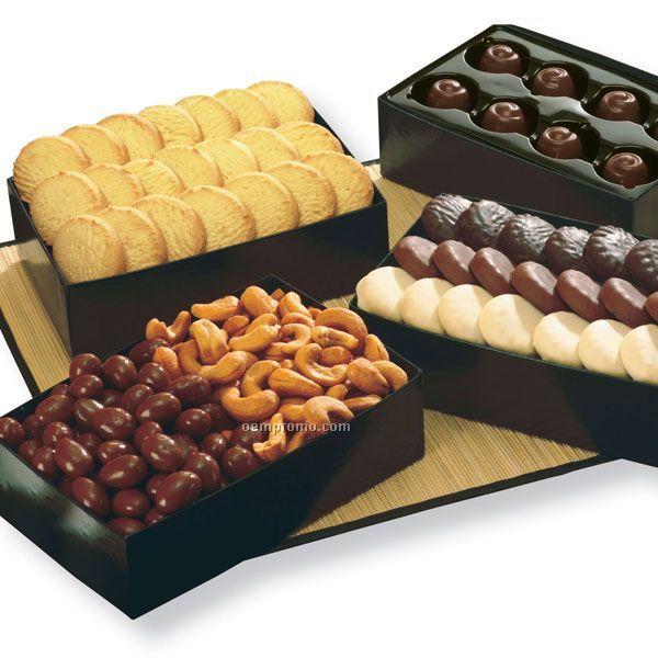 Studio Collection W/ Chocolate Almonds & Cashews (Medium Box)