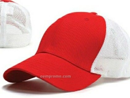Ultra Fit One Classic Mesh Trucker's Cap (One Size Fits Most)