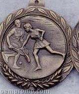 "2.5"" Stock Cast Medallion (Tennis/ Mixed Doubles)"