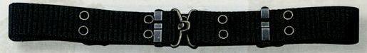 Black Mini Military Pistol Belt