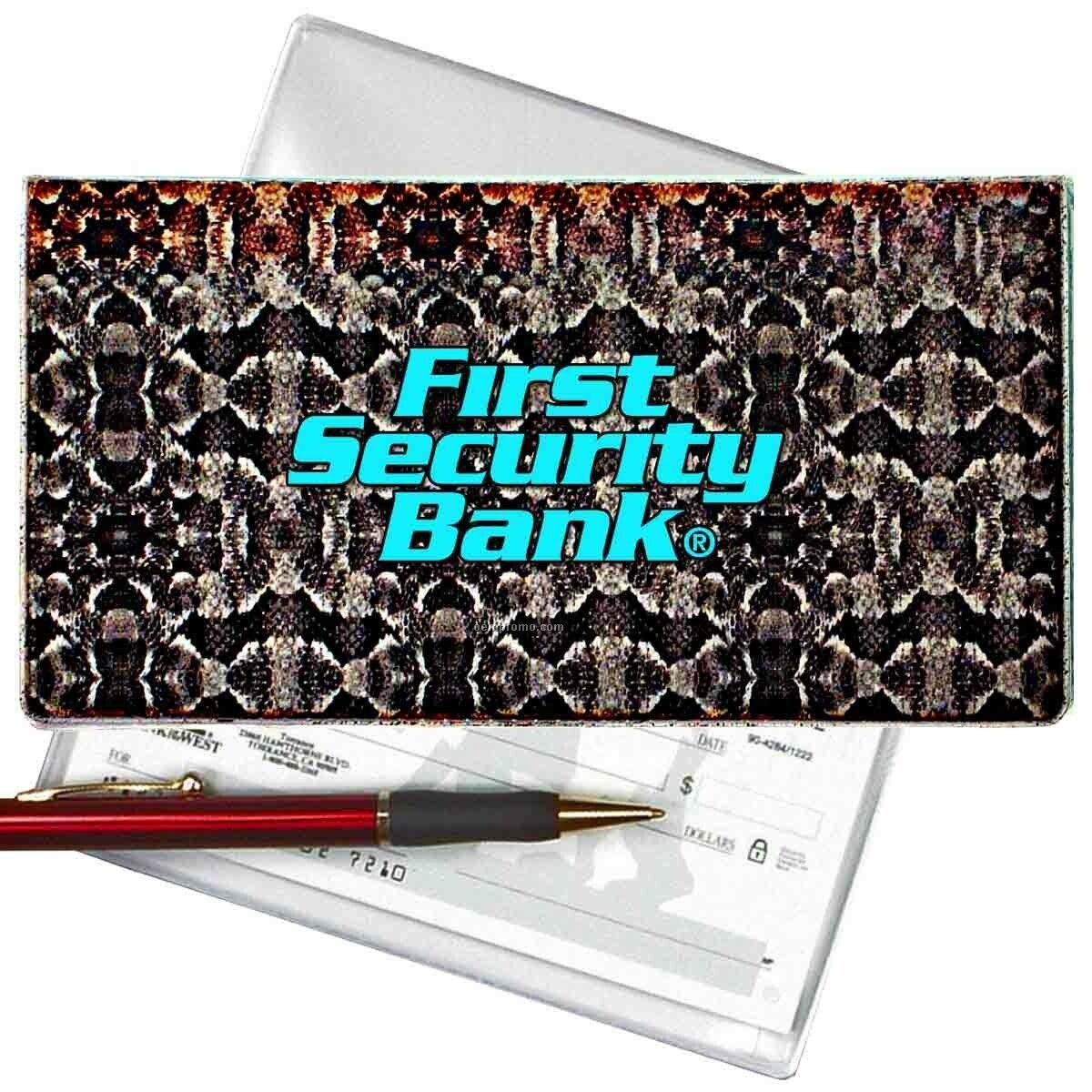 3d Lenticular Checkbook Cover (Snakeskin)
