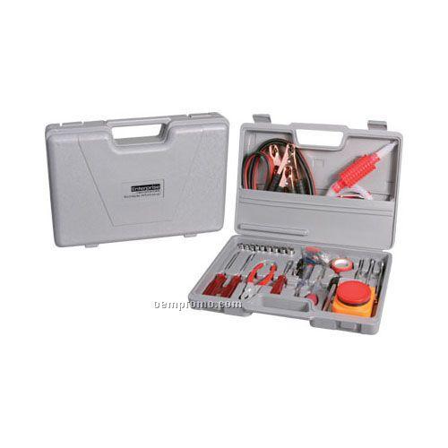 42-piece Auto Emergency Travel Kit