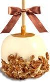 Cinnamon Pecan Caramel Apple W/ White Belgian Chocolate