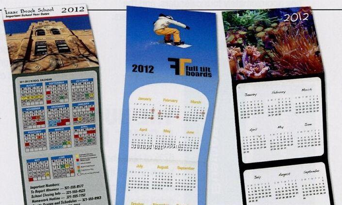 Custom Trifold Calendar