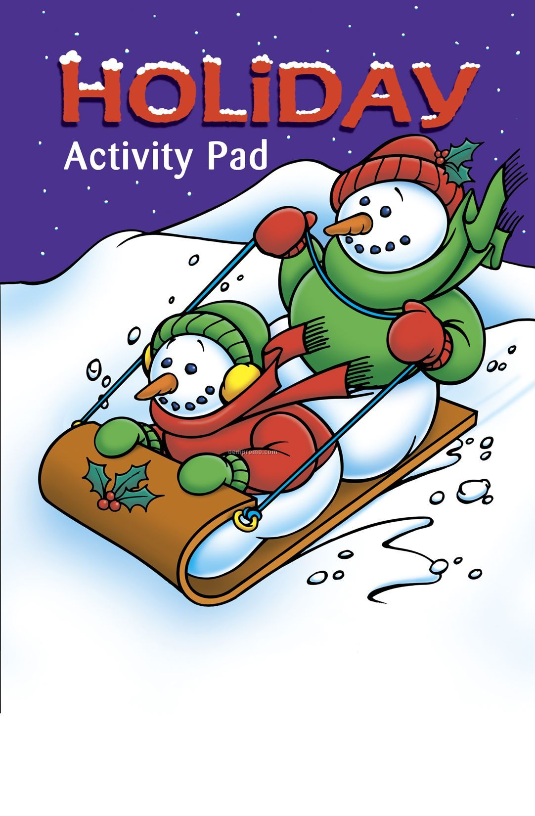 Holiday Activity/Coloring Book