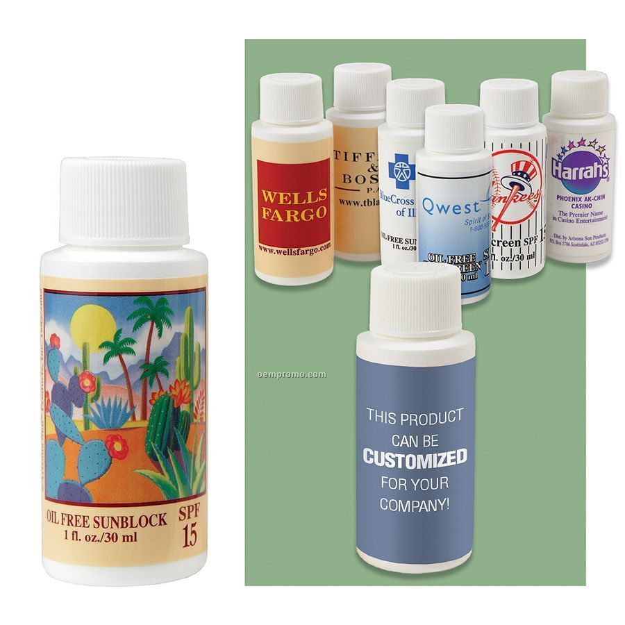 1 Oz. Oil Free Sunscreen With Spf 15