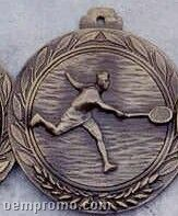 "2.5"" Stock Cast Medallion (Tennis/ Male)"