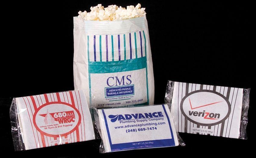 3 1/2 Oz. Premium Flavored Popcorn In Custom Printed Bag (1 Color)