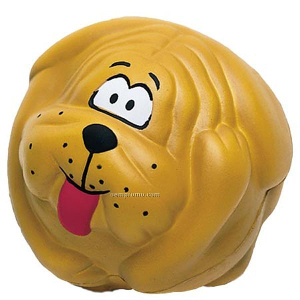 Dog Ball Squeeze Toy