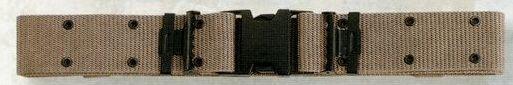 Khaki Beige Medium Marine Corps Quick Release Pistol Belt