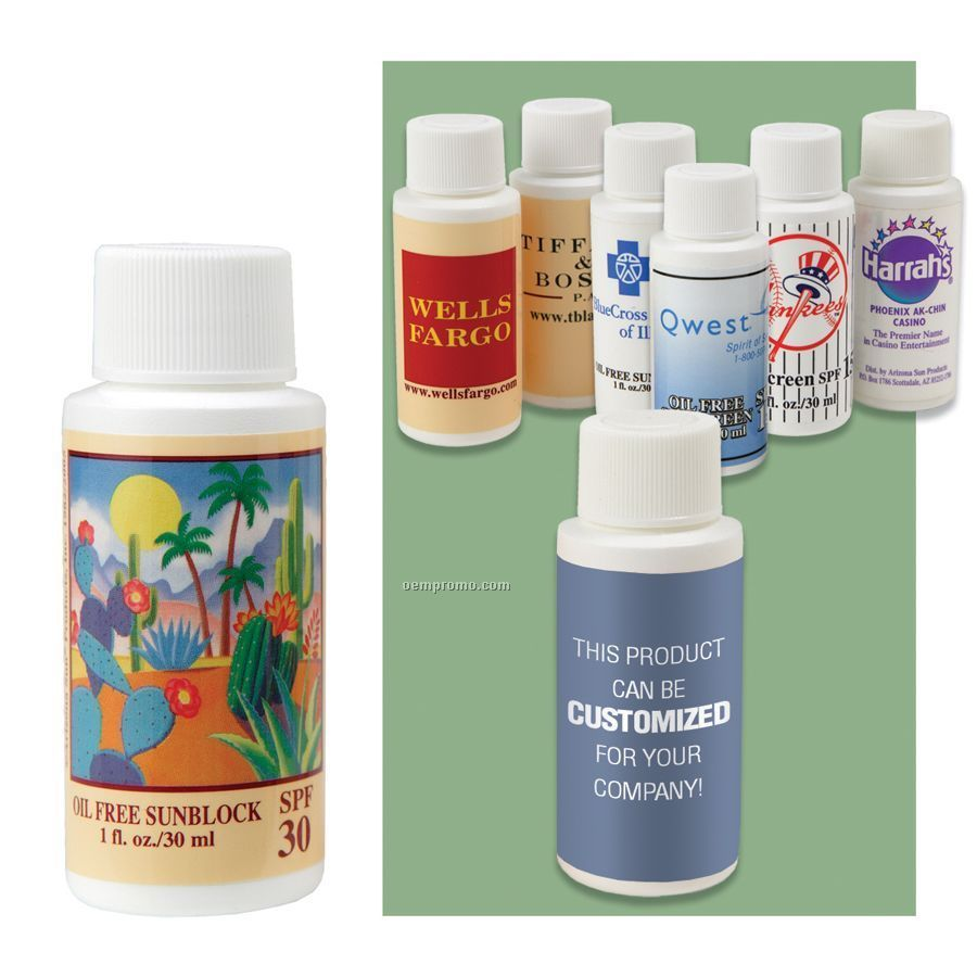 1 Oz. Oil Free Sunscreen With Spf 30