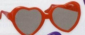 Children's Novelty Heart Sunglasses
