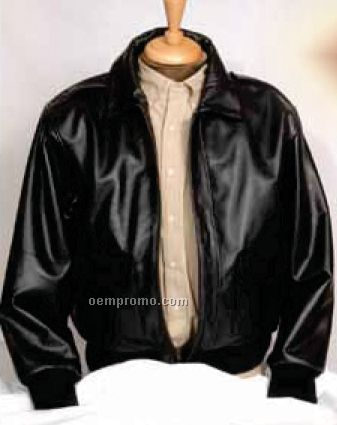 Cowhide Fly Bomber