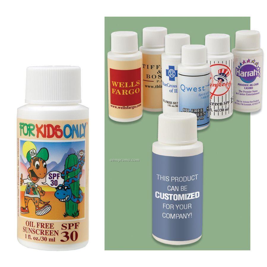1 Oz. Kids Sunscreen Oil Free Spf 30