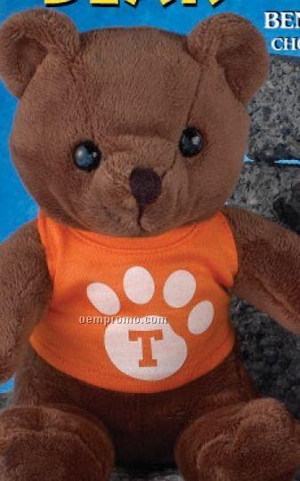 """8"""" Assorted Colors Benny Bear Teddy Bear"""