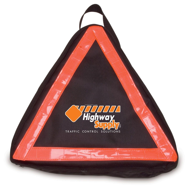 Warning Triangle 28-piece Auto Safety Kit